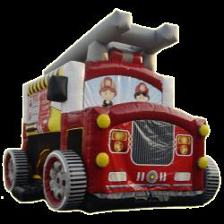 Camion gonflable Pompier